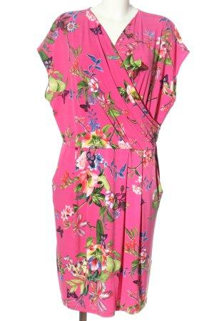 Betty Barclay Minikleid pink-grün Allover-Druck Casual-Look