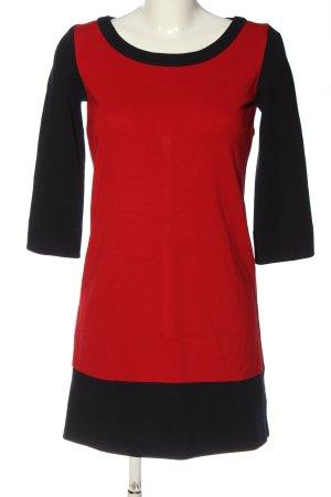 Betty Barclay Minikleid rot-schwarz Casual-Look