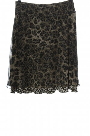 Betty Barclay Miniskirt natural white-black leopard pattern casual look
