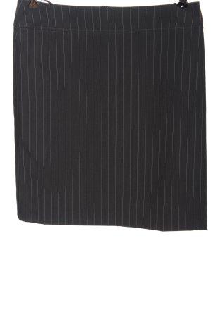 Betty Barclay Mini rok zwart-wit gestreept patroon zakelijke stijl