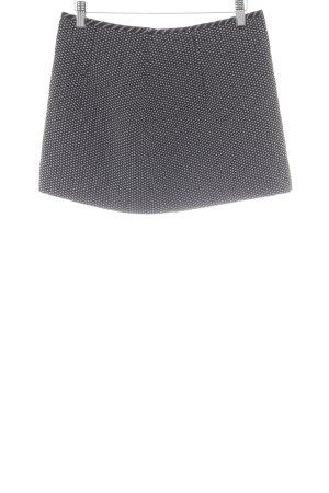 Betty Barclay Minirock schwarz-creme grafisches Muster schlichter Stil
