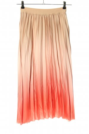 Betty Barclay Pleated Skirt pink-cream color gradient casual look