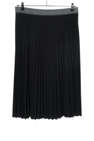 Betty Barclay Pleated Skirt black-white casual look