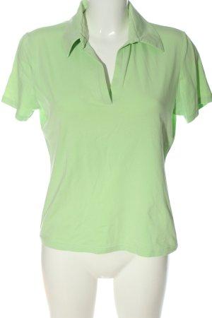 Betty Barclay Polo-Shirt grün Casual-Look