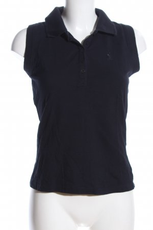 Betty Barclay Top Polo blu stile casual