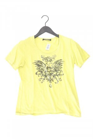 Betty Barclay Printshirt Größe L Kurzarm gelb