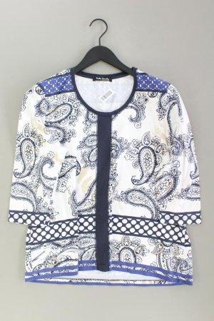 Betty Barclay Printshirt Größe L mit Paisleymuster 3/4 Ärmel weiß