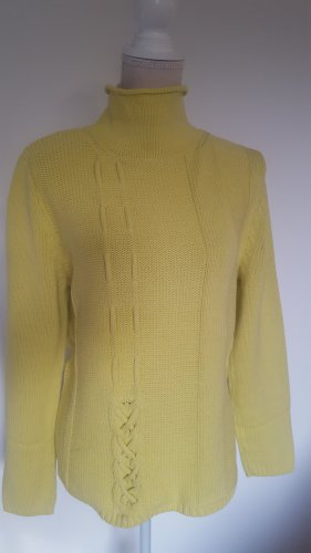 Betty Barclay Pull-over à col roulé jaune
