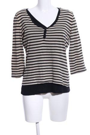 Betty Barclay Camisa de rayas negro-blanco puro estampado a rayas look casual
