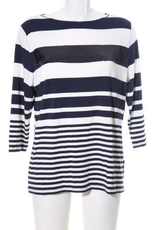 Betty Barclay Ringelshirt weiß-schwarz Streifenmuster Casual-Look