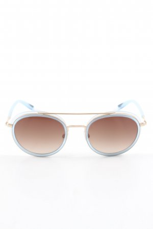 Betty Barclay runde Sonnenbrille blau-braun Casual-Look
