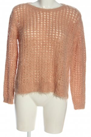 Betty Barclay Kraagloze sweater nude casual uitstraling