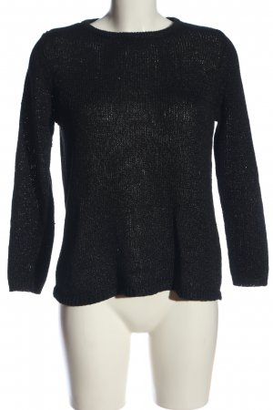 Betty Barclay Rundhalspullover schwarz Casual-Look