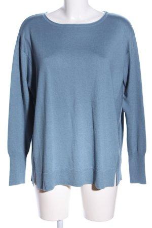 Betty Barclay Rundhalspullover blau Casual-Look