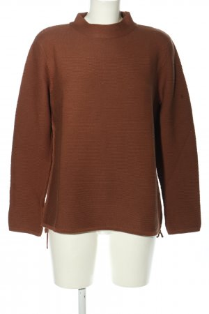 Betty Barclay Strickpullover braun Casual-Look