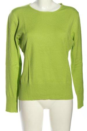 Betty Barclay Rundhalspullover grün Casual-Look
