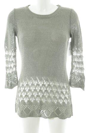 Betty Barclay Rundhalspullover graugrün Street-Fashion-Look