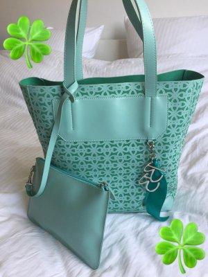 Betty Barclay schöne Tasche Shopper + Handtasche mintgrün