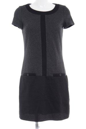 Betty Barclay Shirtkleid schwarz-dunkelgrau Streifenmuster Casual-Look