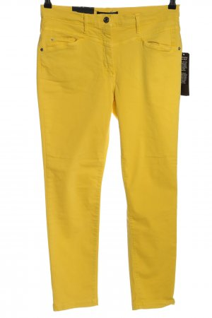 Betty Barclay Jeans slim fit giallo pallido stile casual