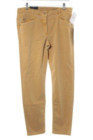 Betty Barclay Slim Jeans hellorange Street-Fashion-Look