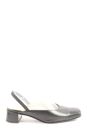 Betty Barclay Slingback-Pumps schwarz Casual-Look