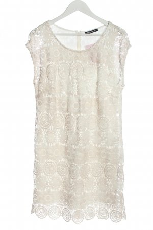 Betty Barclay Lace Dress natural white allover print casual look