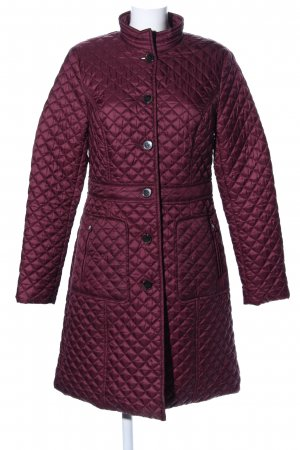 Betty Barclay Manteau matelassé rose motif de courtepointe style décontracté