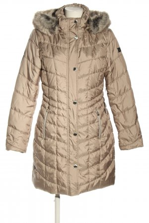 Betty Barclay Quilted Coat cream quilting pattern casual look