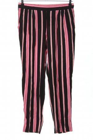 Betty Barclay Stoffhose schwarz-pink Streifenmuster Casual-Look