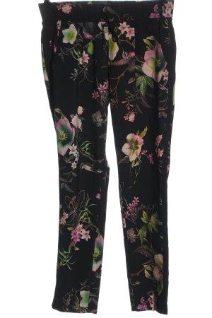 Betty Barclay Pantalone jersey motivo floreale elegante
