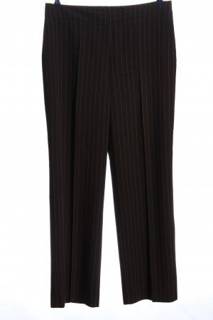Betty Barclay Stoffhose schwarz-wollweiß Streifenmuster Business-Look