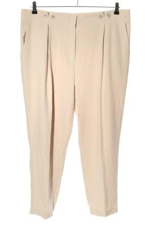 Betty Barclay Pantalone jersey crema stile casual