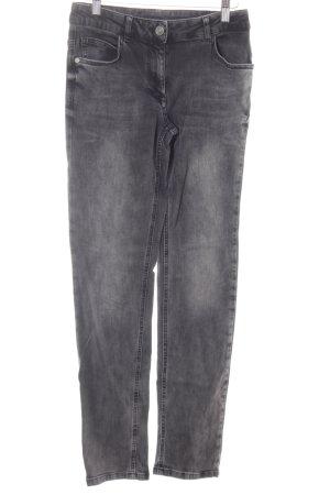 Betty Barclay Jeansy z prostymi nogawkami ciemnoszary W stylu casual