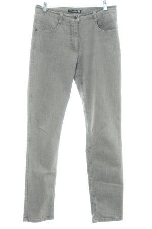 Betty Barclay Jeansy z prostymi nogawkami jasnoszary W stylu casual