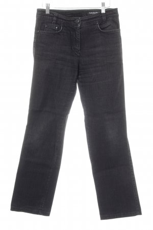 Betty Barclay Jeansy z prostymi nogawkami czarny W stylu casual
