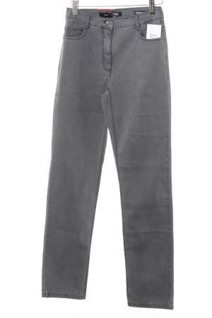 Betty Barclay Stretch Jeans grau Casual-Look