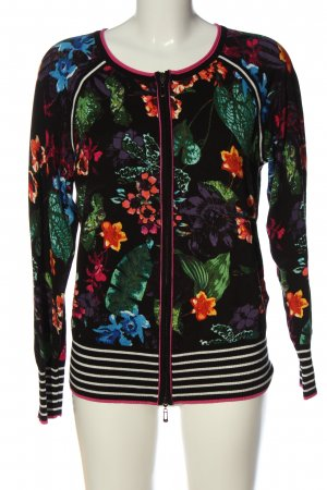 Betty Barclay Knitted Cardigan flower pattern casual look