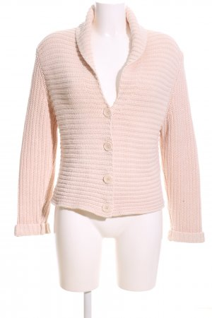 Betty Barclay Strickjacke pink Zopfmuster Casual-Look