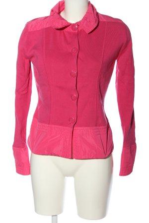 Betty Barclay Giacca in maglia rosa stile casual