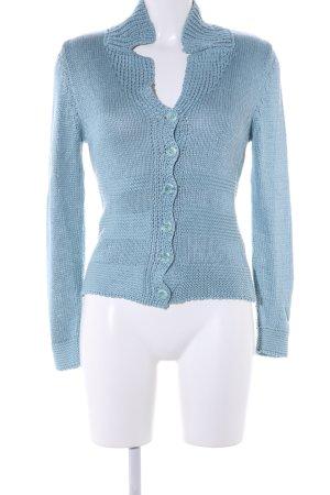 Betty Barclay Strickjacke blau Casual-Look