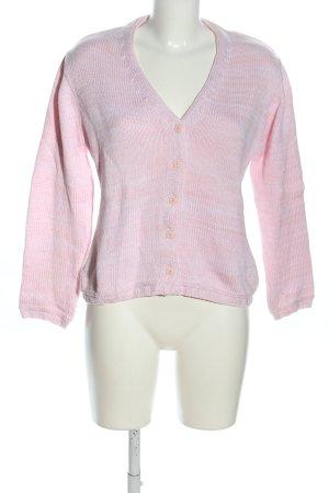Betty Barclay Strickjacke pink meliert Casual-Look