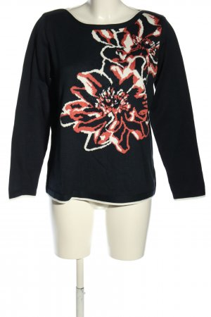 Betty Barclay Strickpullover Blumenmuster Casual-Look