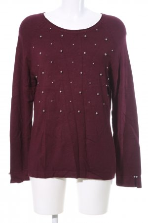 Betty Barclay Strickpullover rot Casual-Look