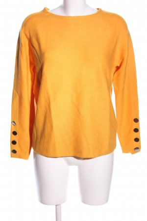 Betty Barclay Strickpullover hellorange Business-Look