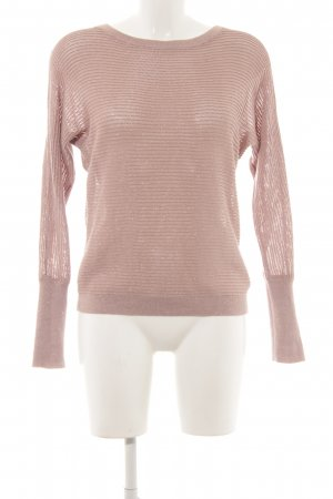 Betty Barclay Strickpullover altrosa Lochstrickmuster Casual-Look