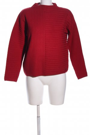 Betty Barclay Strickpullover rot Zopfmuster Casual-Look