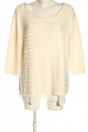 Betty Barclay Strickpullover creme Casual-Look