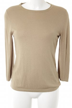 Betty Barclay Strickpullover goldfarben-sandbraun Casual-Look