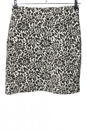Betty Barclay Knitted Skirt black-white allover print casual look